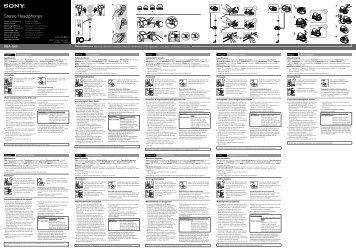 Sony XBA-S65 - XBA-S65 Istruzioni per l'uso Tedesco