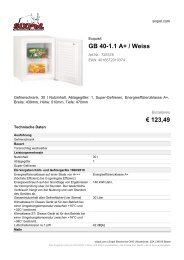 GB 40-1.1 A+ / Weiss € 123,49