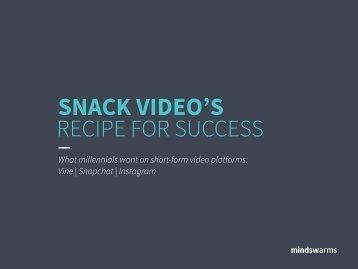 SNACK VIDEO'S