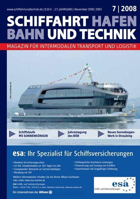7 | 2008 - Schiffahrt und Technik
