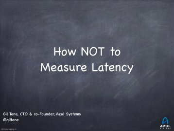 How NOT to Measure Latency