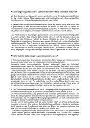 Warum längeres gemeinsames Lernen? - Integrierte Gesamtschule ...