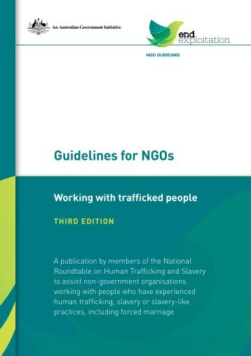 Guidelines for NGOs