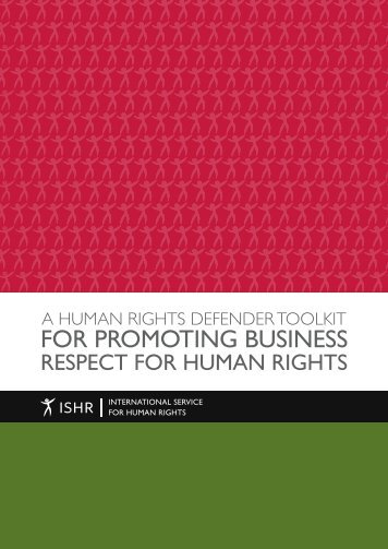 FOR PROMOTING BUSINESS