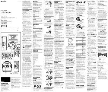 Sony ICF-C7iP - ICF-C7IP Istruzioni per l'uso Tedesco