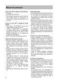 Sony CFD-S07CP - CFD-S07CP Istruzioni per l'uso Rumeno - Page 4