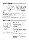 Sony CFD-S07CP - CFD-S07CP Istruzioni per l'uso Rumeno - Page 6
