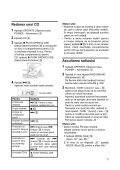 Sony CFD-S07CP - CFD-S07CP Istruzioni per l'uso Rumeno - Page 7