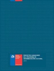 PROYECTOS GANADORES DEL PROGRAMA DE INTERMEDIACIÓN CULTURAL 2015