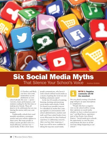 Six Social Media Myths