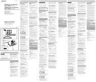 Sony ICF-C233 - ICF-C233 Istruzioni per l'uso Tedesco