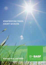 Klimaschutz mit BASF VERANTWORTUNG TRAGEN. ZUKUNFT ...