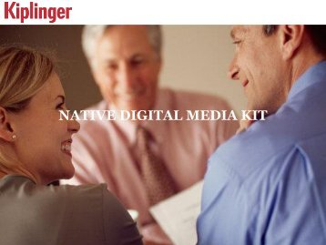 NATIVE DIGITAL MEDIA KIT