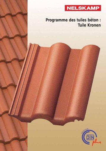 Programme des tuiles béton : Tuile Kronen - Isotosi