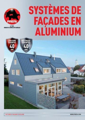 ToiTures | façades | solaire www.prefa.com - Isotosi
