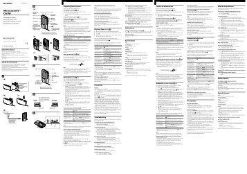 Sony M-673V - M-673V Istruzioni per l'uso Portoghese