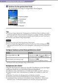 Sony NWZ-A866 - NWZ-A866 Istruzioni per l'uso Tedesco - Page 5