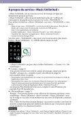 Sony NWZ-A866 - NWZ-A866 Istruzioni per l'uso Francese - Page 3
