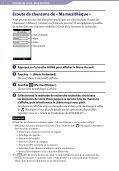 Sony NWZ-A866 - NWZ-A866 Istruzioni per l'uso Francese - Page 7