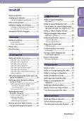 Sony NWZ-S739F - NWZ-S739F Istruzioni per l'uso Svedese - Page 4