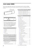 Sony NW-E013 - NW-E013 Istruzioni per l'uso Sloveno - Page 6