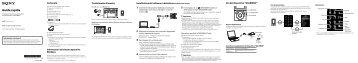 Sony NWZ-S774BT - NWZ-S774BT Istruzioni per l'uso Italiano