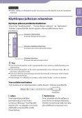 Sony NWZ-A846 - NWZ-A846 Istruzioni per l'uso Finlandese - Page 2