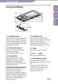 Sony NWZ-A846 - NWZ-A846 Istruzioni per l'uso Finlandese - Page 6