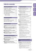 Sony NWZ-A846 - NWZ-A846 Istruzioni per l'uso Spagnolo - Page 3