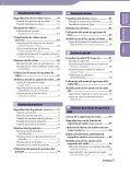 Sony NWZ-A846 - NWZ-A846 Istruzioni per l'uso Spagnolo - Page 4