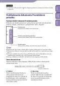 Sony NWZ-S545 - NWZ-S545 Istruzioni per l'uso Slovacco - Page 2