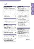 Sony NWZ-S545 - NWZ-S545 Istruzioni per l'uso Slovacco - Page 3