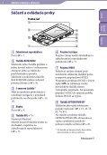 Sony NWZ-S545 - NWZ-S545 Istruzioni per l'uso Slovacco - Page 5