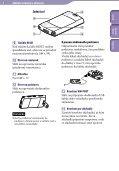 Sony NWZ-S545 - NWZ-S545 Istruzioni per l'uso Slovacco - Page 6