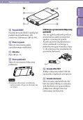 Sony NWZ-S545 - NWZ-S545 Istruzioni per l'uso Polacco - Page 6