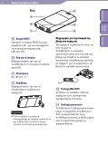 Sony NWZ-S545 - NWZ-S545 Istruzioni per l'uso Greco - Page 6