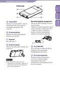 Sony NWZ-S545 - NWZ-S545 Istruzioni per l'uso Ucraino - Page 6