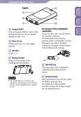 Sony NWZ-S545 - NWZ-S545 Istruzioni per l'uso Danese - Page 6