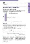 Sony NWZ-S545 - NWZ-S545 Istruzioni per l'uso Portoghese - Page 2