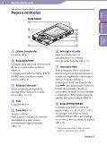 Sony NWZ-S545 - NWZ-S545 Istruzioni per l'uso Portoghese - Page 5