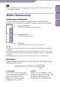 Sony NWZ-S545 - NWZ-S545 Istruzioni per l'uso Svedese - Page 2