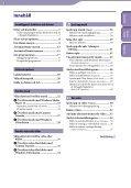 Sony NWZ-S545 - NWZ-S545 Istruzioni per l'uso Svedese - Page 3