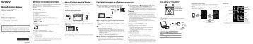 Sony NWZ-S773BT - NWZ-S773BT Istruzioni per l'uso Spagnolo