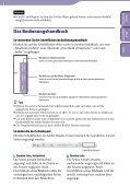 Sony NWZ-S545 - NWZ-S545 Istruzioni per l'uso Tedesco - Page 2