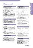 Sony NWZ-S545 - NWZ-S545 Istruzioni per l'uso Tedesco - Page 3