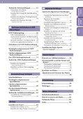 Sony NWZ-S545 - NWZ-S545 Istruzioni per l'uso Tedesco - Page 4