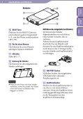 Sony NWZ-S545 - NWZ-S545 Istruzioni per l'uso Tedesco - Page 6