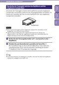 Sony NWZ-S545 - NWZ-S545 Istruzioni per l'uso Tedesco - Page 7