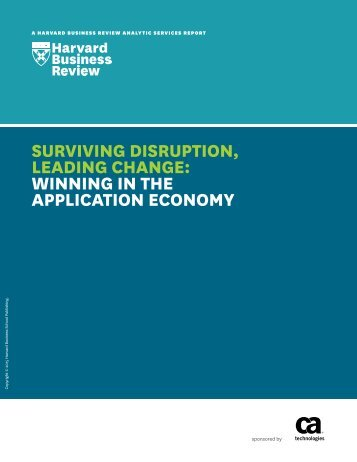 LEADING CHANGE WINNING IN THE APPLICATION ECONOMY