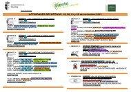 ACTIVIDADES DEPORTIVAS 19 20 21 y 22 de noviembre 2015